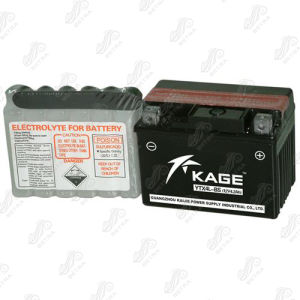 Motorcycle Battery (YTX4L-BS) 12V-3.5ah