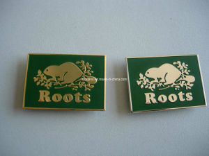 Custom High Quality Square Metal Nameplate Badge