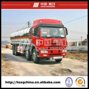 New 8X4 24700L Faw Plastic Tank Truck for Chemical Liquid Property Delivery (HZZ5311GHY) pictures & photos