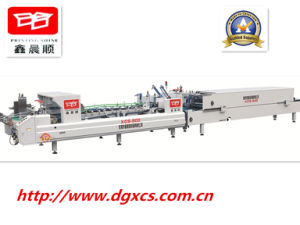 Xcs-800 Efficiency Folder Gluer for Flower Box pictures & photos