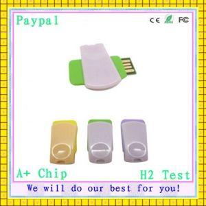 OEM Swivel Metal Gift Items USB Drive 256MB USB Flash Drivve (gc-663) pictures & photos