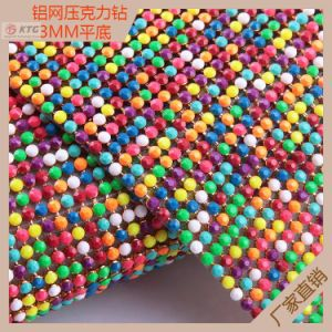 Crystal Hot Fix Self Adhesive Rhinestone Net Mesh Sheet for Bag pictures & photos