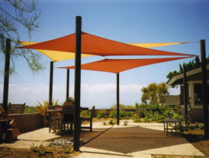 Waterproof Polyester Garden Sun Shade Sail pictures & photos