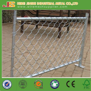 PVC Coated Chain Link Fence Panel with Gate pictures & photos