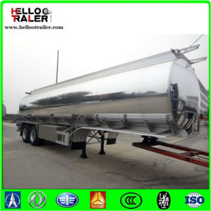 Aluminum Alloy Trailer 5083 52000 Liters Tri-Axle Aluminum Tank Semi Trailer pictures & photos