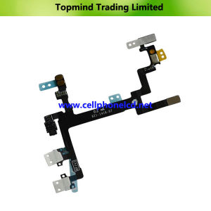 Brand New Power Button Switch on-off Flex Cable for iPhone 5 pictures & photos