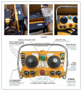F24-60 Dual Joystick Remote Controller pictures & photos