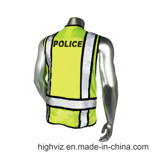 Police Safety Vest with ANSI07 (PL-001) pictures & photos