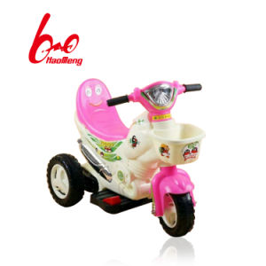 Kids Electric Motorcycle with Double Seat pictures & photos