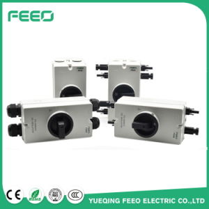 Electrical Breaker Solar Power 1000VDC 32A 4phase Isolator Switch Outdoor pictures & photos
