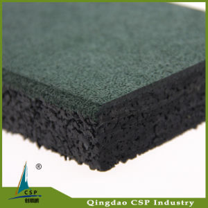 Outdoor Used Rubber Tile Made From China pictures & photos