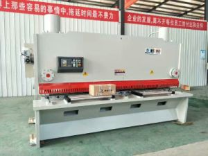 QC11K 6*2500 Hydraulic CNC Guillotine Shearing Machine pictures & photos