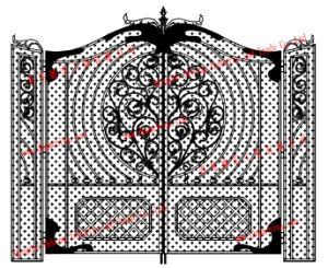 Hot Dipped Steel Side Gate / Garden Gate pictures & photos