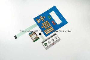 Metal Keyboard Digital Control Panel Membrane Switch pictures & photos