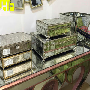 Factory Wholesales Antique Contracted Style Mirror Box for Jewelry Box