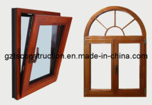 Customized Aluminum Casement Window with ISO9001 Certification pictures & photos
