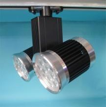 LED Track Lamp Highlight+Black Dualhead 3000k\6500k