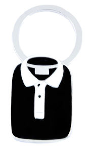 New Arrival Enamel T-Shirt Shaped Keychain Metal (HJ061)