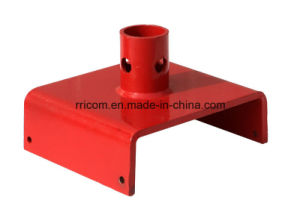 Powder Coated /Painting Steel U Head Base Plate for Scaffold Frames pictures & photos