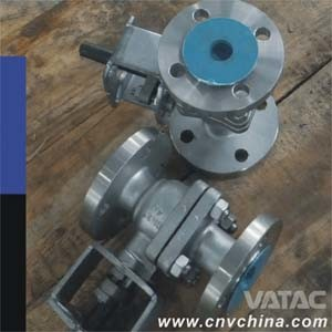 API Flanged Floating Ball Valve pictures & photos