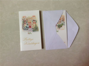 Christmas Greeting Cards with Envelope / Music Greeting Card with Envelop pictures & photos