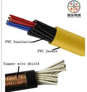 Shielded Electrical Cable, Flexible Control Cable 450/750V pictures & photos