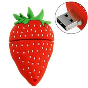 The Cute Strawberry USB 2.0 USB Flash Drive 8GB 16 GB 32 GB Pen Drive Memory Stick Pendrive U Disk pictures & photos