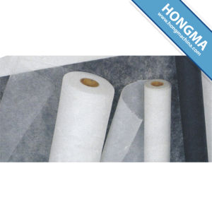 Non-Woven Interlining Fabric with Glue for Embroidery 1718-0001