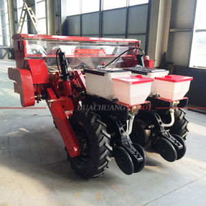 2 Rows Heavy-Duty No-Tillage Air Suction Corn Seeder with Fertilizer