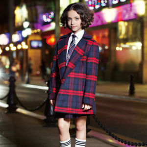 OEM Western Style Short Sleeve School Girl Dress Uniform pictures & photos