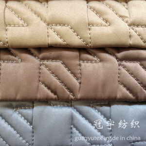 Home Decorative Quilted Sofa Fabrics pictures & photos