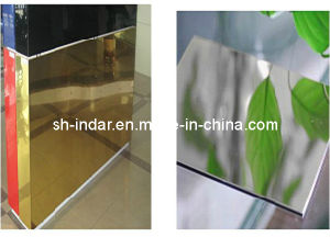 Exterior Wall Mirror Aluminum Composite Panel Acm ACP