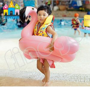 Baby Kis Inflatable Swan Flamingo Pool Floats Toy swimming Ring pictures & photos
