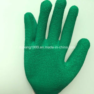 Nmsafety Heavy Duty Blue Nitrile Oil Filed Work Safety Glove pictures & photos