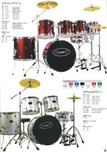 7PCS Drum Kits, Drum Sets (JW227PVC-3, JW225PVC-1)