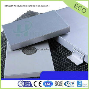 Aluminium Honeycomb Panel for Facade with Fireproof Function pictures & photos