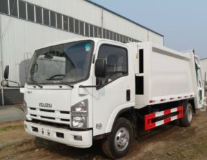 EQ1100 Chassis 4X2 Compress Garbage Truck pictures & photos