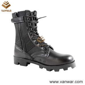 Ligheweight Polyurethane Panama Military Jungle Boots with Zippers (WJB005) pictures & photos