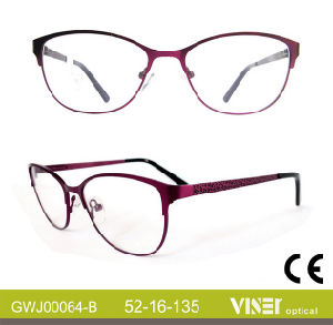 Eyeglass Frame Optical Frame with High Quality (64-B) pictures & photos