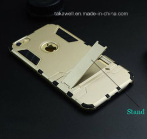 China Wholesale Mobile Phone Accessory OEM Iron Man Armor Case for iPhone 6 6s 6 Plus Cell Phone Cover Case pictures & photos