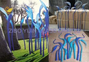 Hot Sale Color Murano Wall Glass Sculpture for Modern Hotel Lobby Villa Garden Home Villa Decoration