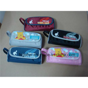 Back to School Season Nylon Kids Pencil Case with Handle pictures & photos