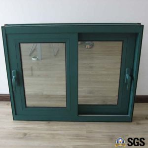 Powder Coated Handle Lock Thermal Breaka Aluminum Sliding Window, Aluminium Window, Aluminum Window, Window K01016 pictures & photos