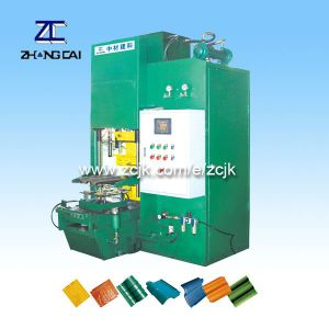 ZCJK Various Colorful Cement Roof Tile and Artificial Stone Making Machine (ZCW-120)
