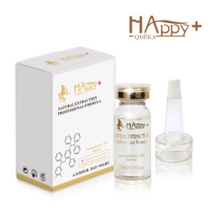 Anti-Acne Natural Happy+ Vc Ance Treatment Levorotatory Vc Serum pictures & photos
