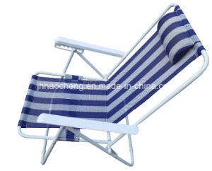 Hc-Ls-FC97-3 Five Position Adjustable Folding Beach Chair