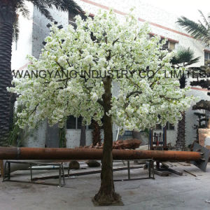 Hot Sale White Artificial Fake Handmade Blossom Tree for Outdoor Indoor Decoration pictures & photos