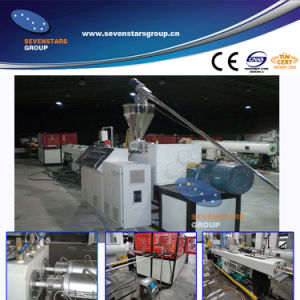 PVC electrical conduit pipe production machine pictures & photos