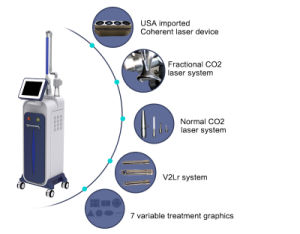 Fractional CO2 Laser Vaginal Tightening Scar Removal Health Care Medical Equipment pictures & photos