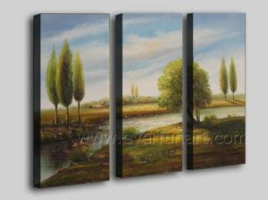 Home Decoration Wall Art of Landscape Oil Painting on Canvas for Home Decoration (LA3-127) pictures & photos